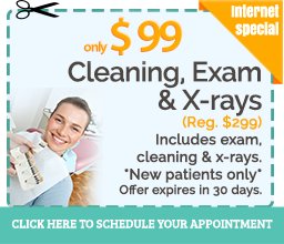 cleaning dentist special